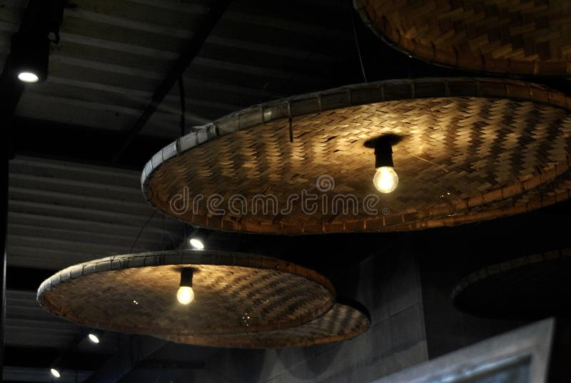decorative lights stock photography