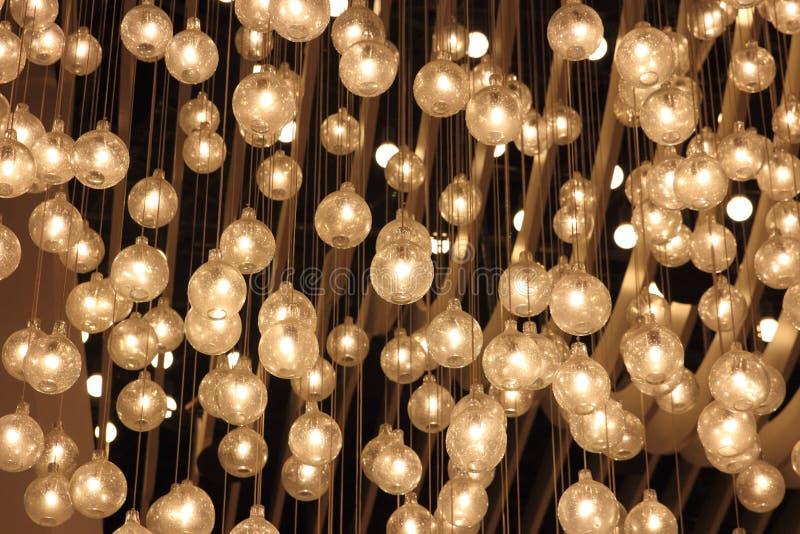 Decorative lights royalty free stock photo