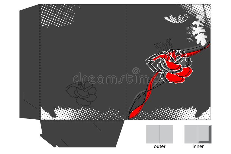 Download Decorative Map With Flowers Stock Vector - Illustration of natural, illustration: 14140066