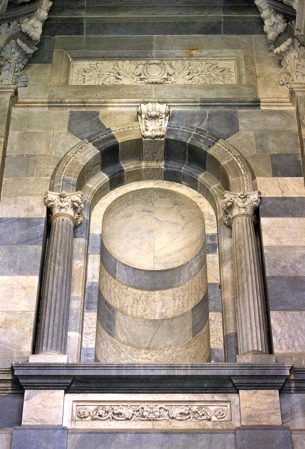 Download Decorative Marble Feature On External Wall Stock Photo - Image: 17073040