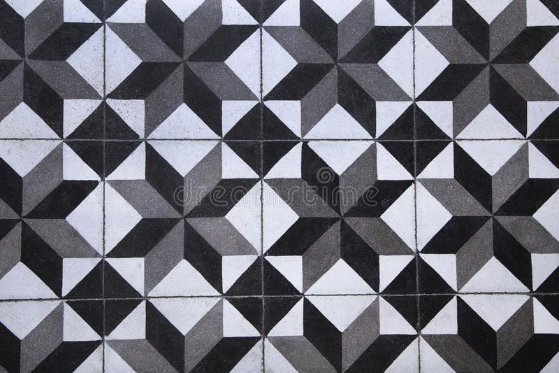 Tiled floor royalty free illustration