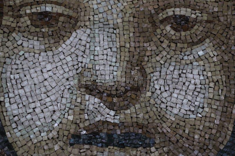 Decorative mosaic royalty free stock photo