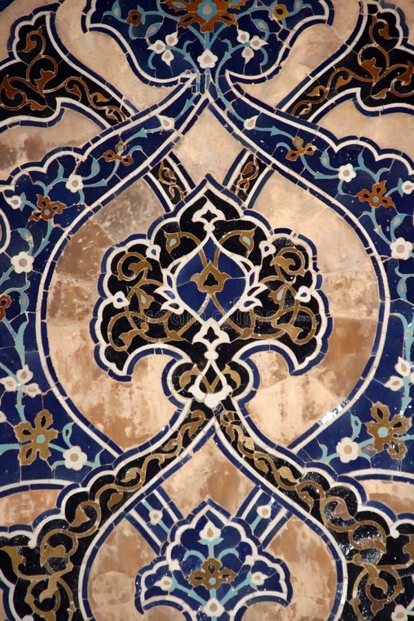 Decorative mosaic pattern royalty free stock photography