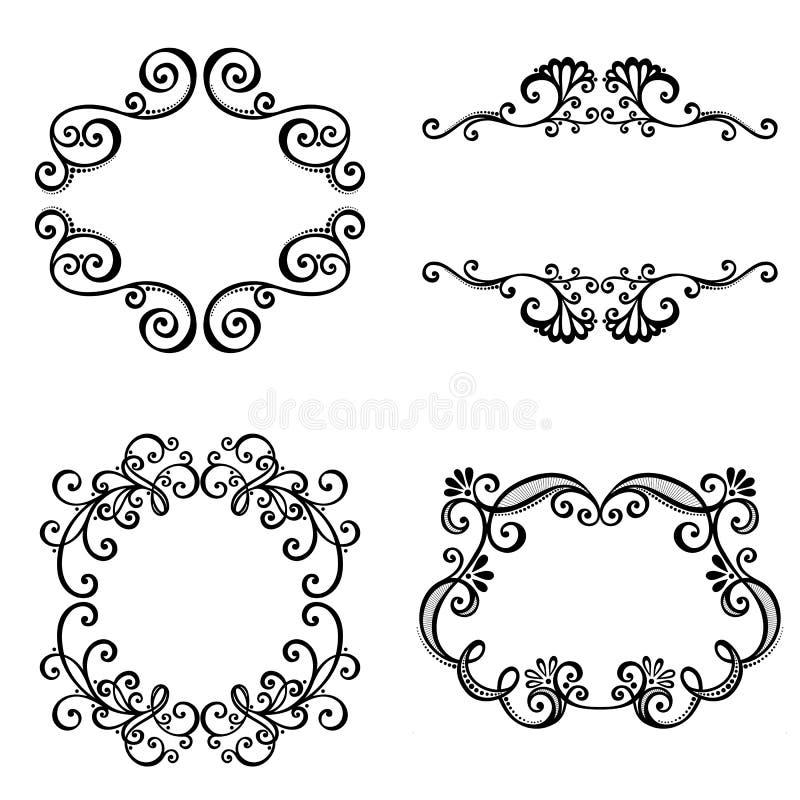 Download Decorative Ornamental Frame For Text. Stock Vector - Illustration of border, cadre: 34606543