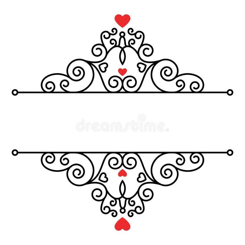Decorative ornamental wedding card design stock vector download decorative ornamental wedding card design stock vector illustration of swirls luxurious 98241555 junglespirit Choice Image