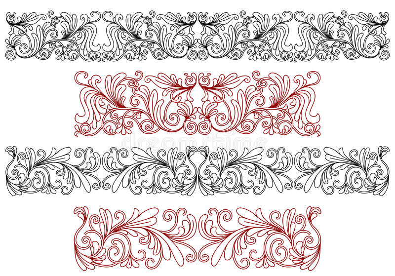 Download Decorative Ornaments And Borders Stock Vector - Image: 32430355