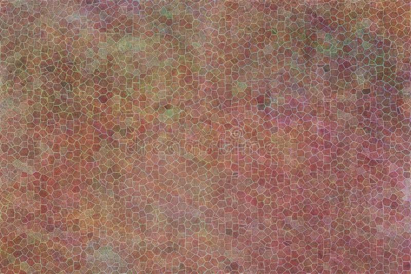 Conceptual texture, colorful grunge or rough, overlay filter effect for design catalog or background. royalty free illustration