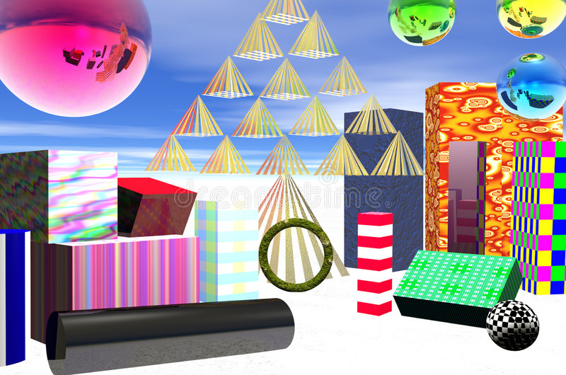Download Decorative Packages And Balls Stock Illustration - Image: 7360975