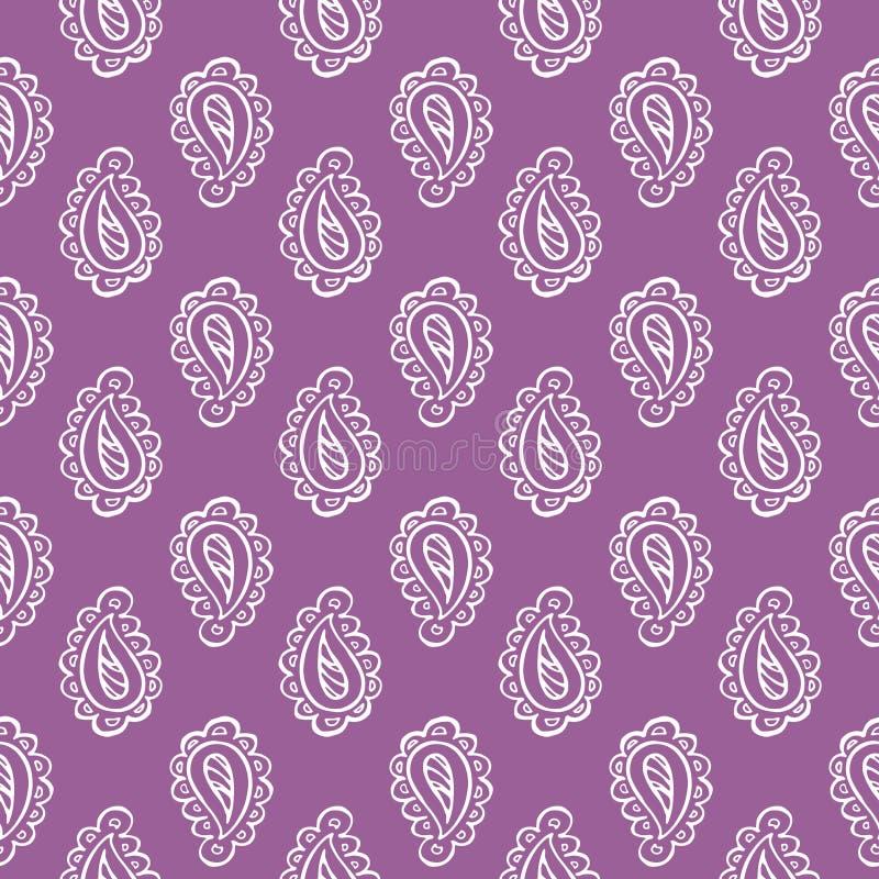 Decorative paisley pattern royalty free stock photography