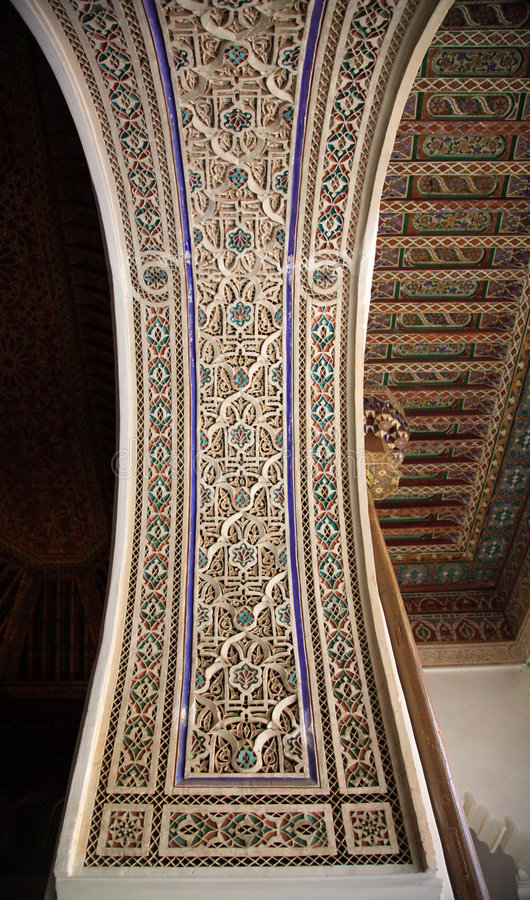 Download Decorative Palace Wall And Ceiling Stock Image - Image: 3999857