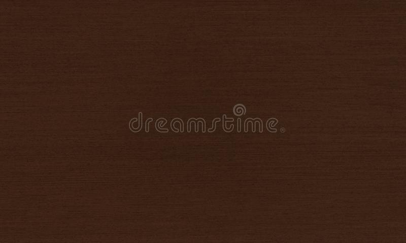 Decorative panel for finishing the kitchen and furniture dark brown.Texture or background. stock photo
