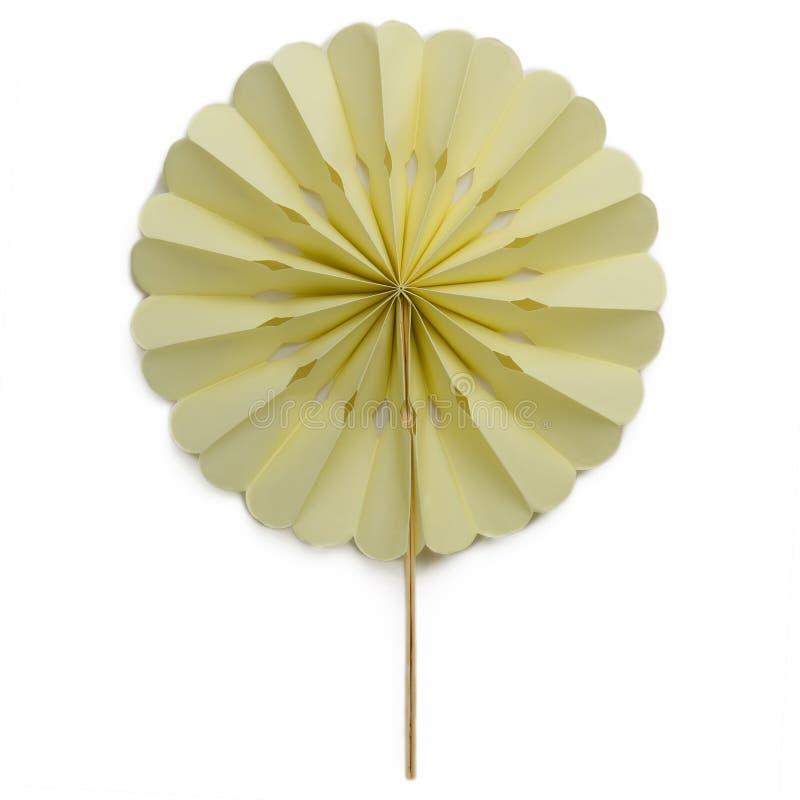 Decorative paper fan stock photos