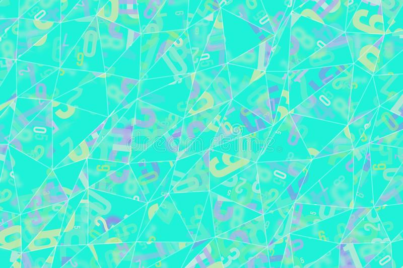 Decorative and pattern of geometric triangle strip illustrations. Repeat, surface, digital & texture. vector illustration