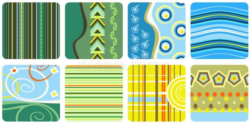 Decorative patterns stock photos