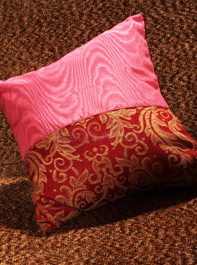 Download Decorative pillow stock photo. Image of decoration, gold - 28217662