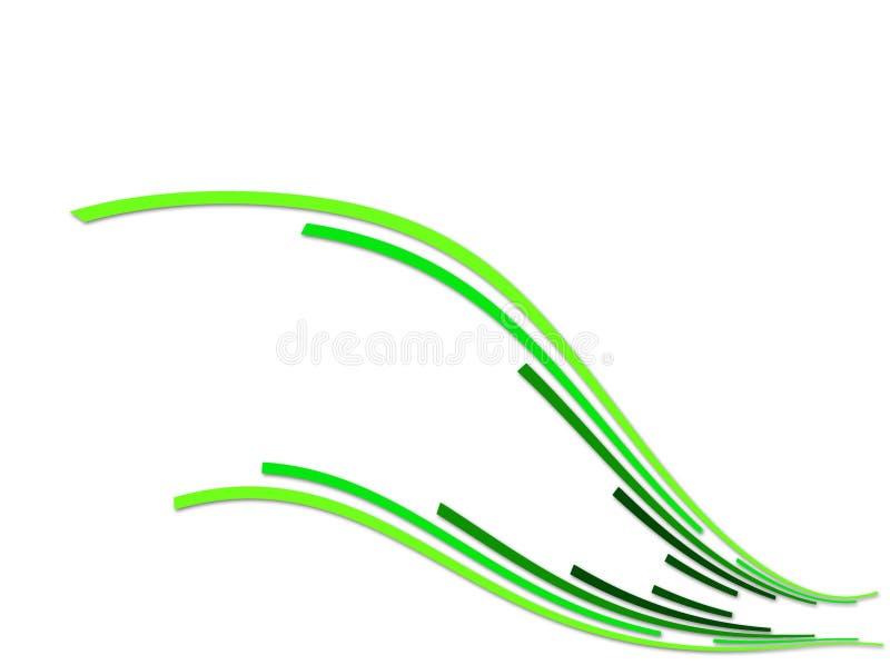 Decorative_plant_wing lizenzfreie abbildung