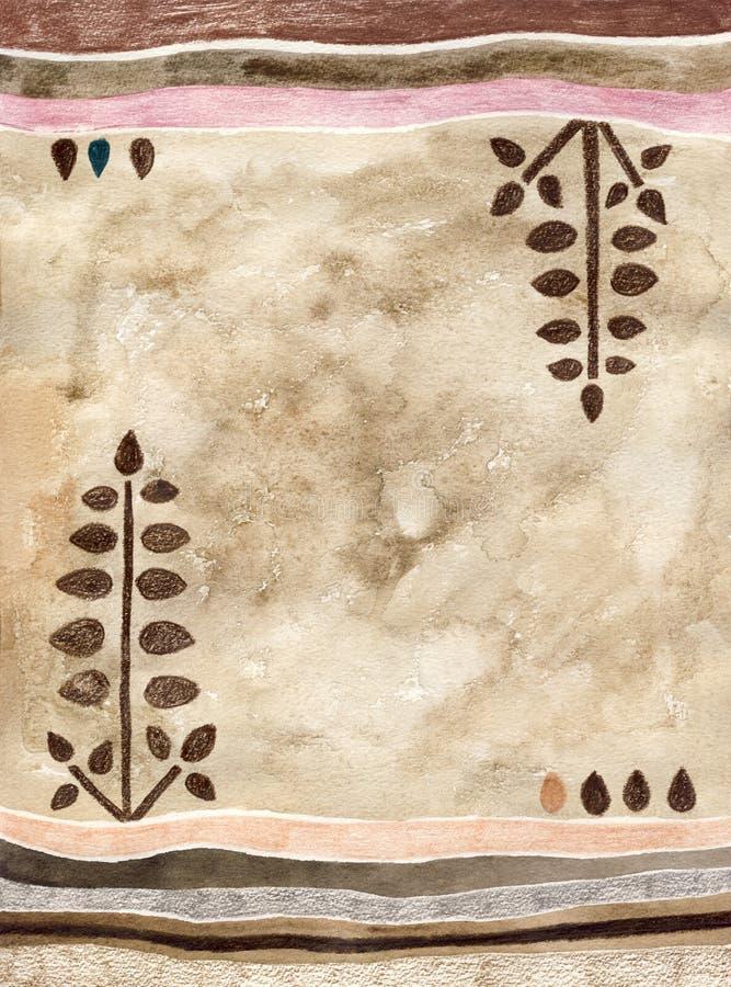 Download Decorative Plants Background Stock Illustration - Illustration: 5395212