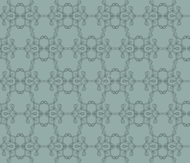 Download Decorative Repeating Pattern, Vector Stock Vector - Image: 23854990