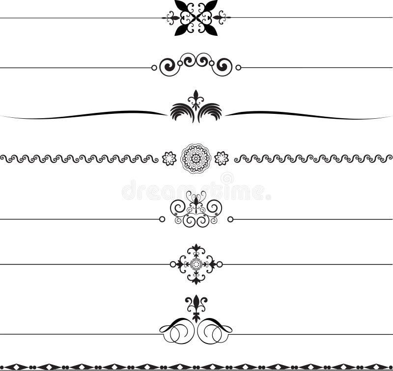 Decorative Rules Stock Image