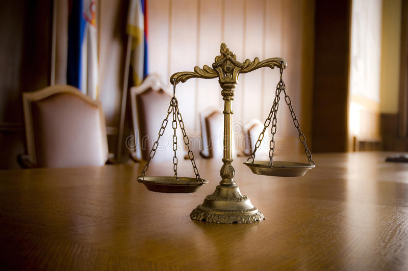 Download Decorative Scales Of Justice Stock Photo - Image: 25247850