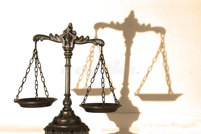 Download Decorative Scales Of Justice Stock Photo - Image: 26466728