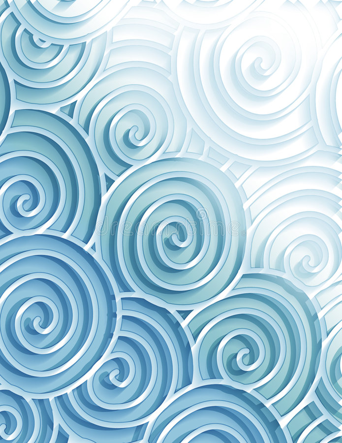 Download Decorative  Sea Swirls Royalty Free Stock Image - Image: 187466