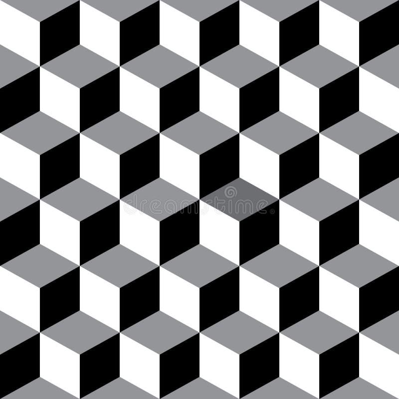Decorative Seamless Geometric Vector Pattern Background vector illustration
