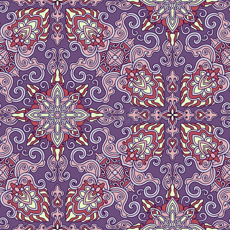 Download Decorative Seamless Pattern. EPS-8. Stock Vector - Image: 43243880