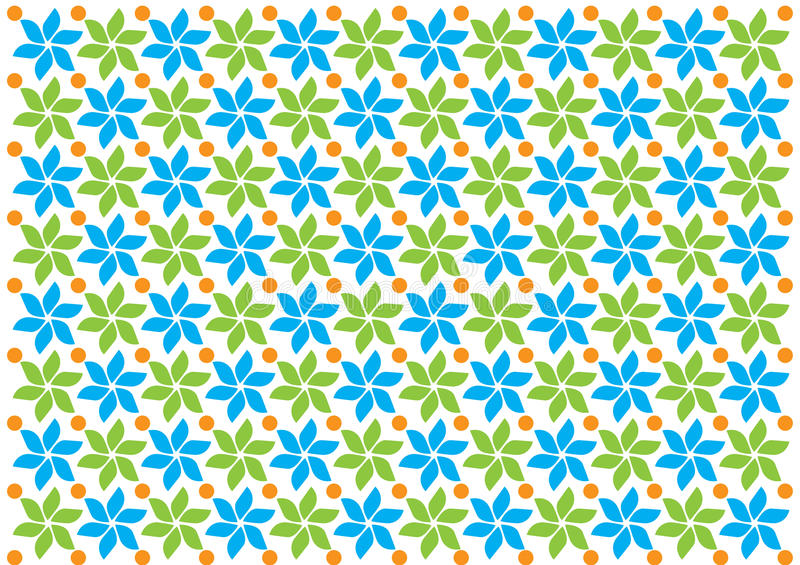 Decorative Seamless Pattern Vector Background vintage flower texture royalty free stock photo