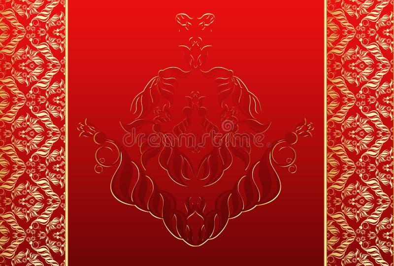 Decorative seamless tile vector illustration