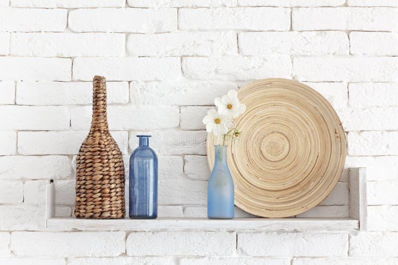 Decorative shelf stock image