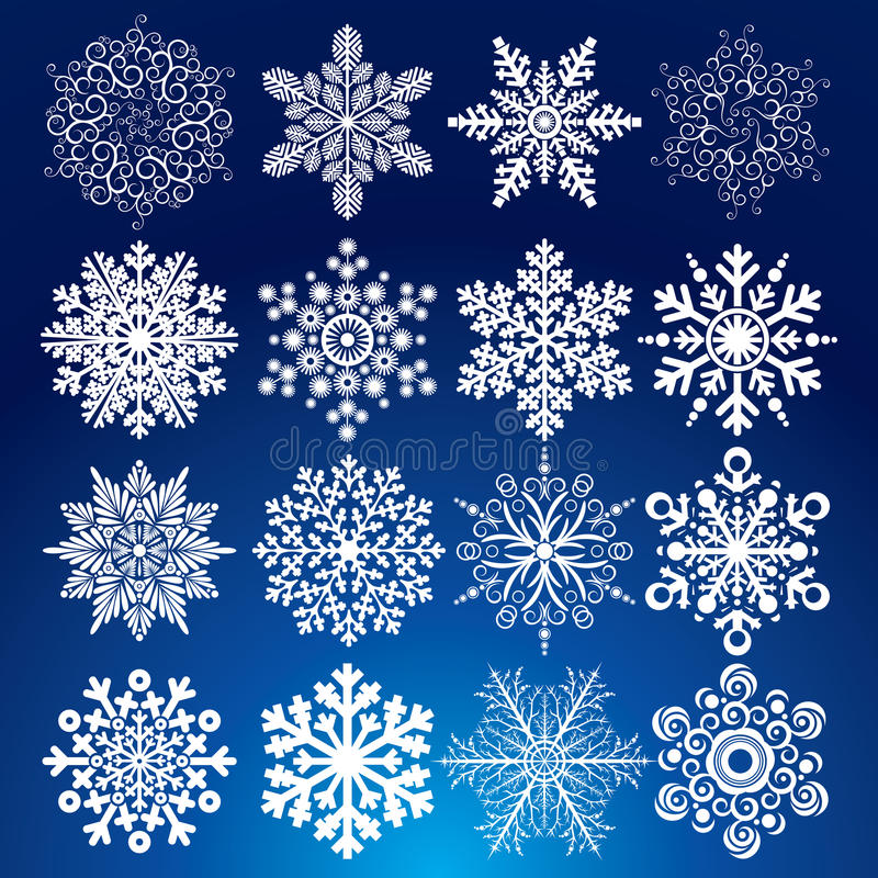 Decorative Snow stock photography