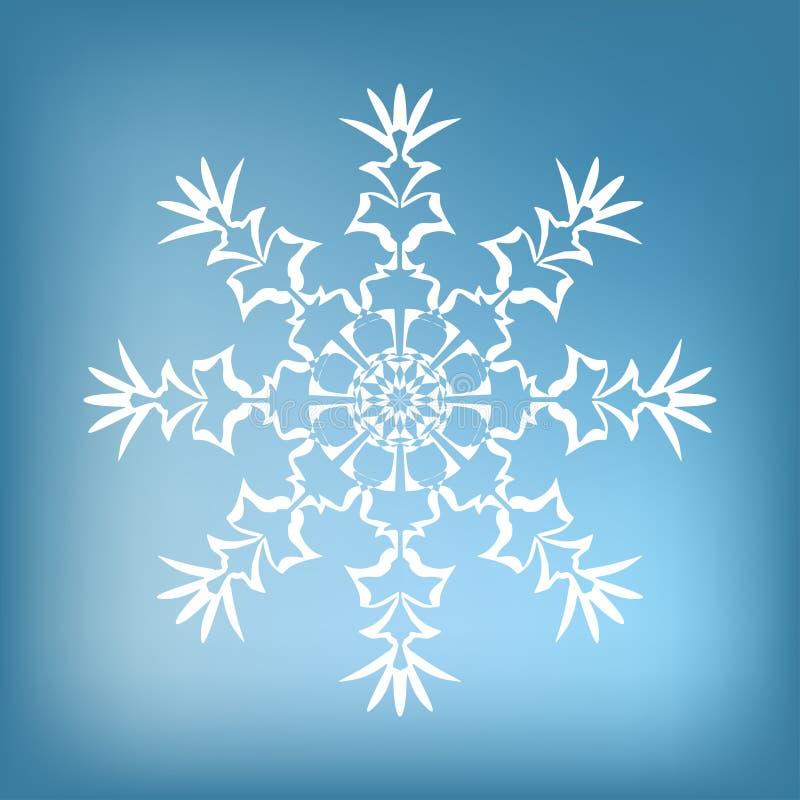 Decorative snowflake royalty free stock photo
