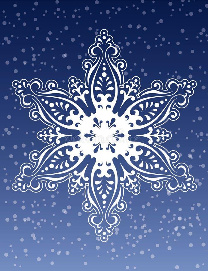 Free Decorative Snowflake Ornament Vector Royalty Free Stock Photo - 1341595