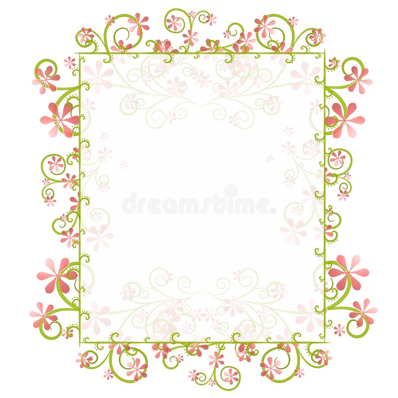 spring borders and frames - Kubre.euforic.co