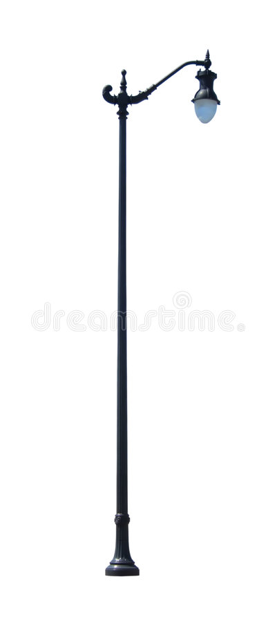 Free Decorative Street Light 2 With Clipping Path Royalty Free Stock Photography - 698707