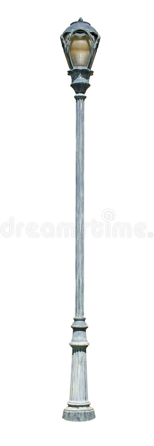 Download Decorative Street Light 3 With Clipping Path Royalty Free Stock Image - Image: 698706