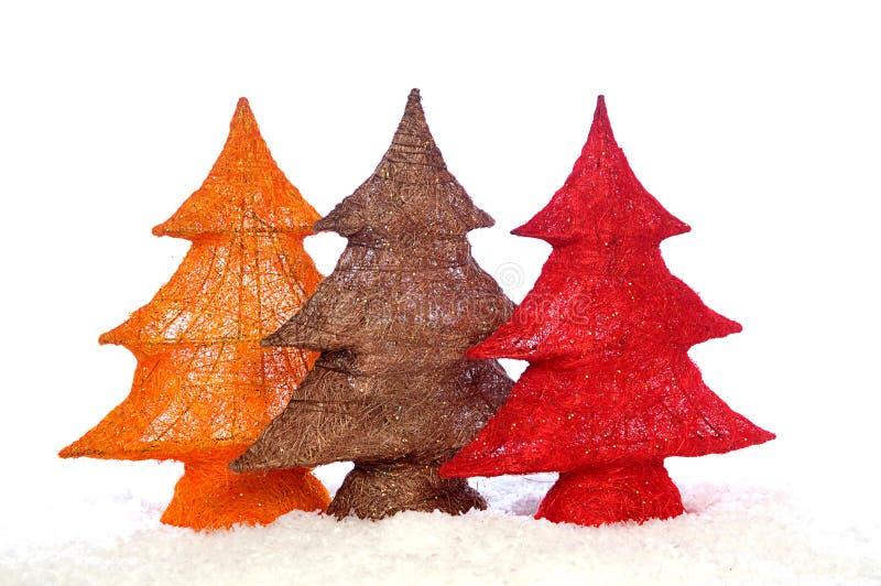 Download Decorative Stylish Christmas Trees Stock Photo - Image: 12130096