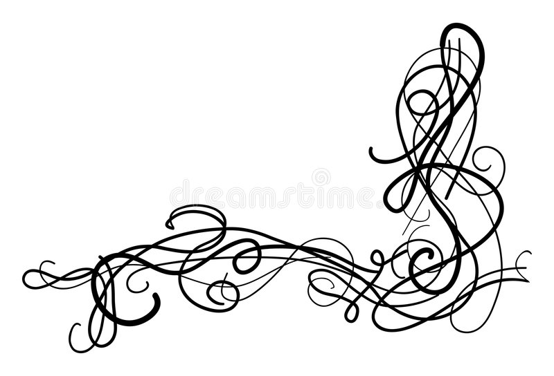 Download Decorative Swirls Royalty Free Stock Photo - Image: 1405325