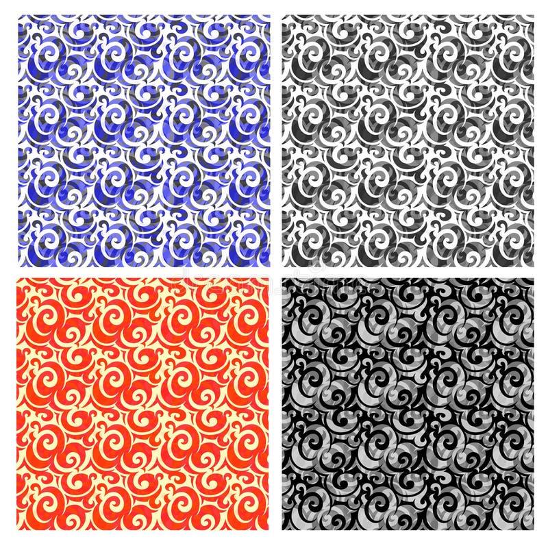 Download Decorative swirls stock illustration. Image of floral - 34228202