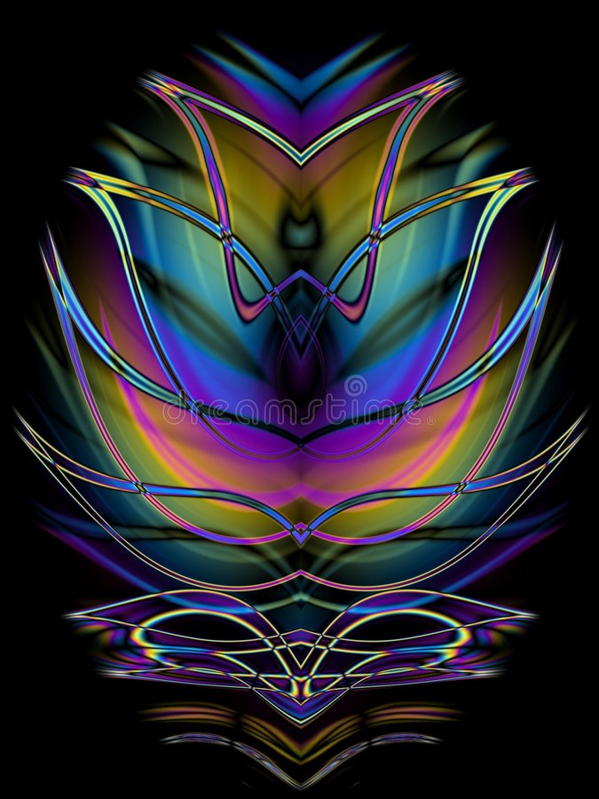 Download Decorative Symmetrical Design Stock Illustration - Illustration: 2009279