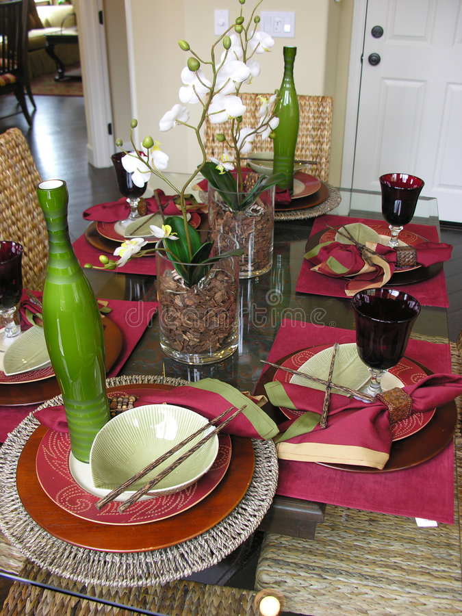 Download Decorative Table Setting stock photo. Image of entertain - 750414 & Decorative Table Setting stock photo. Image of entertain - 750414