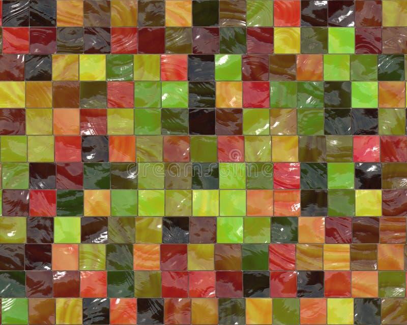 Decorative tiles stock illustration