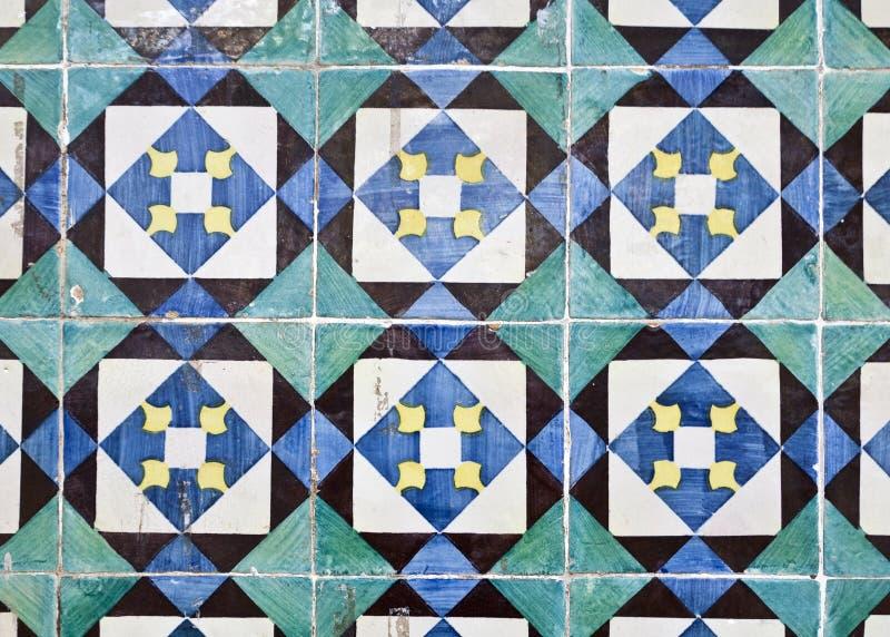 Decorative Tiles (Azulejos) stock photos