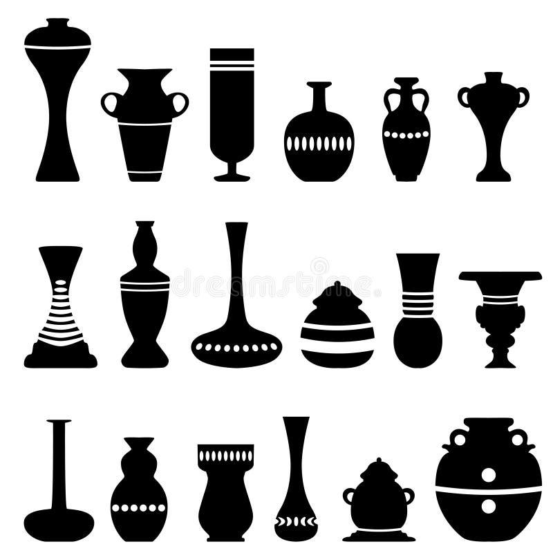 Download Decorative vase stock vector. Image of decorative, shadow - 14920934