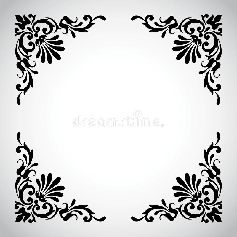 Decorative Vintage Design Element royalty free stock images