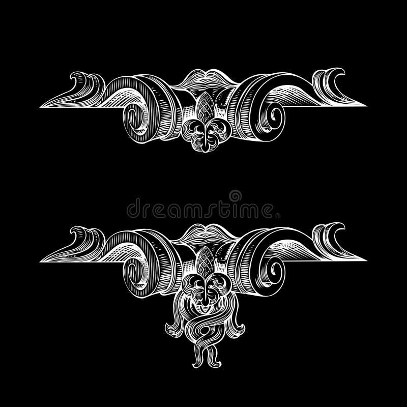 Download Decorative Vintage Ornate Banner. Stock Vector - Image: 25871081