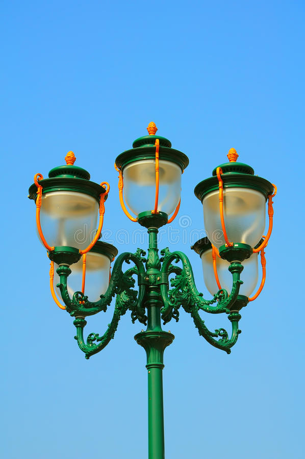 Download Decorative Vintage Street Lights Stock Image - Image: 21087913