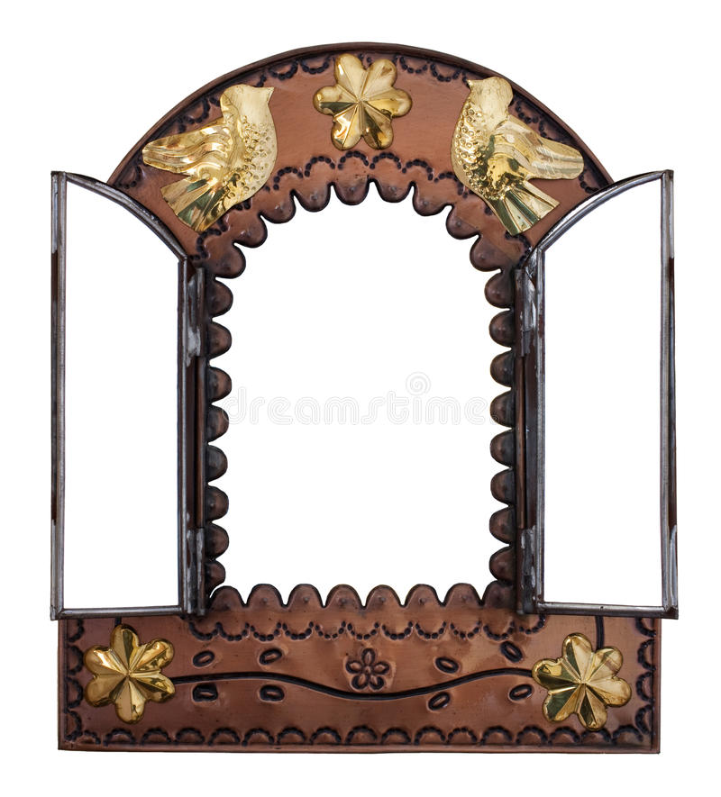 Download Decorative Wall Mirror Stock Image. Image Of Wall, Reflection    19821619