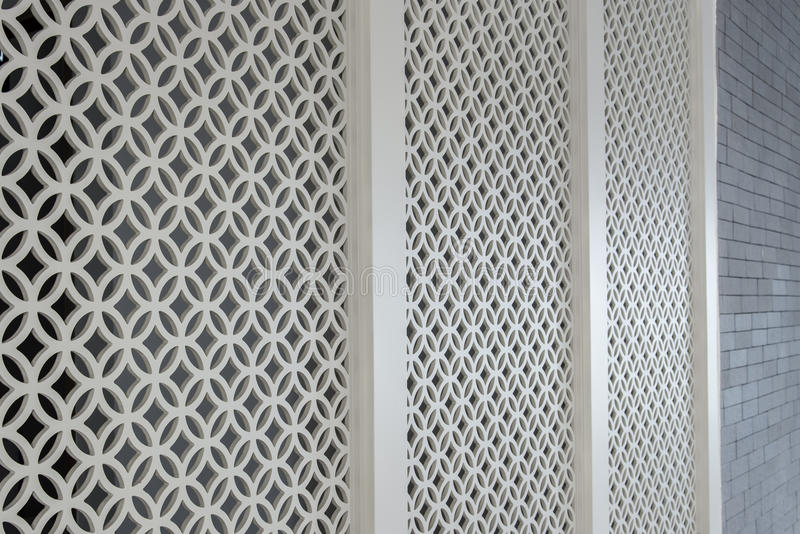 decorative wall partition stock photos